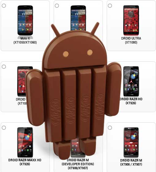 Android 4.4 is now offered for mobile phones Google Play Edition