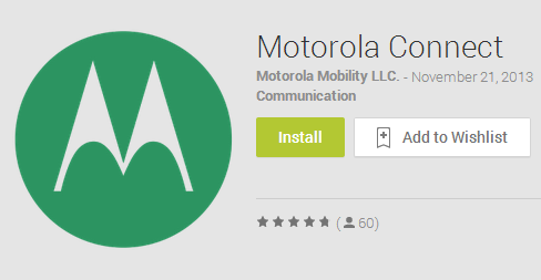 Motorola Connect strikes the Play Store also, appropriate with Moto's KitKat tools