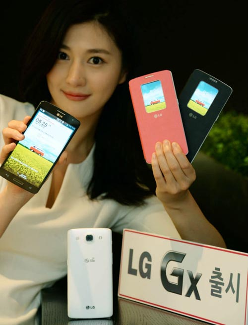 LG introduced a new android smartphone – LG Gx