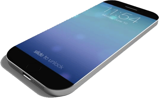 iPhone 6 and Galaxy S5 will not use curved display