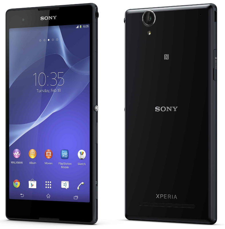 Sony Xperia T2 Ultra and Xperia T2 Ultra dual – smartphones for entertainment