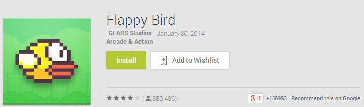 Flappy Bird developer earning FIFTY thousand $ per day