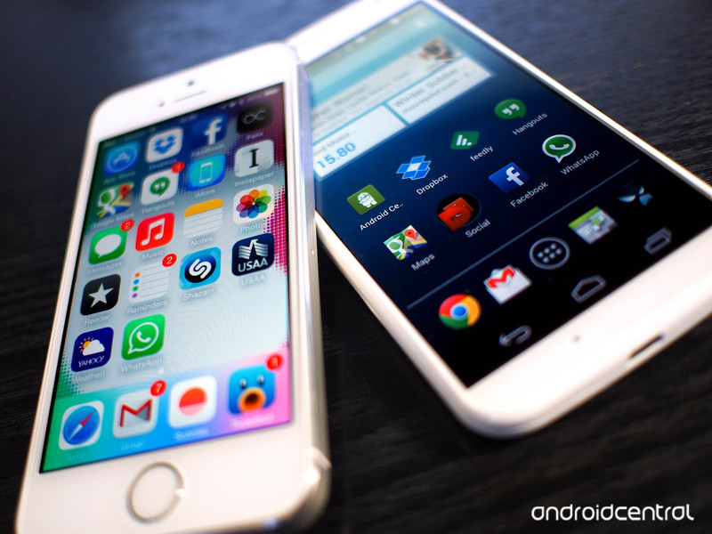 iOS apps and android apps