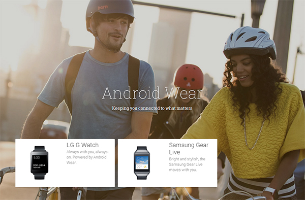 LG G Watch and Samsung Gear Live available at Play Store