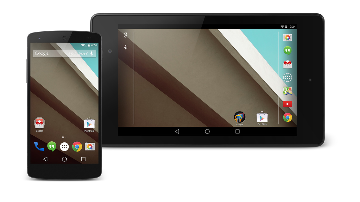 Android OS next version: Android L Developer Preview