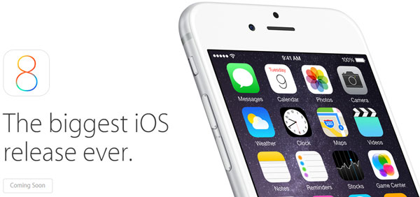 Apple iOS8 is Coming Soon