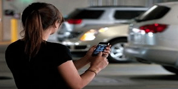 [Denounces Vial Smartphone app] being used for illegal parking complaint
