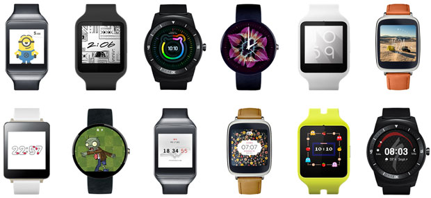 Google Android Wear Beautiful and Luxury watches Coming soon