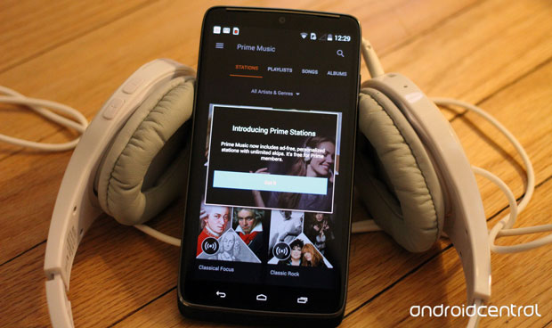 Android users of Amazon Prime Music Stations now enjoy unlimited