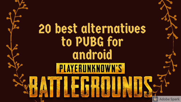 15 best alternatives to PUBG for android